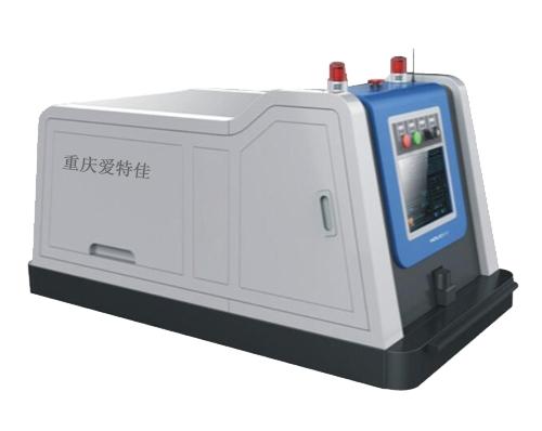 上海單向后牽引AGV